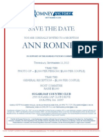 Ann Romney in Support of the Romney Victory Committee for Romney Victory Inc.