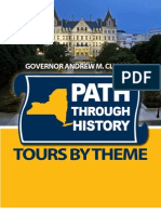 """New York State's """"Paths Through History"""" Heritage Tourism Initiative, List With Themes"""