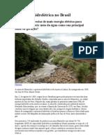 Geo - A questão hidrelétrica no Brasil