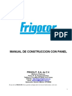 Manual de Construccion Con Panel Frigocor