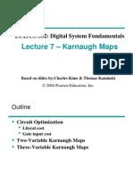Lec07 Karnaugh Maps