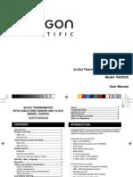 Manual Termometro Digital