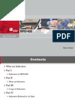 RPG400 Indicators