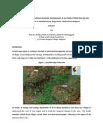 Watershed Development Kattanbhavi and Ningyanatti, Belgaum