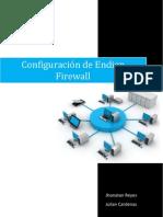 Configuración de firewall Endian