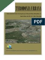 HETERODOXIA URBANA, CIPLAN, Año 2012, Vol 1, N 0 Enero-Junio