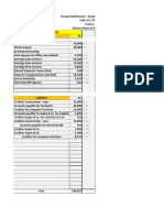 Financial Account- Balance Sheet Assignment 2 Kapoor Software Ltd.