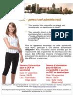 Exemple d'Affiche RAC Personnel Administratif du Centre Jeunesse de Montréal