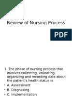 Review of Nursing Process