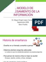 El modelo de procesamiento de la información