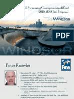 Mayor's presentation on FINA bid