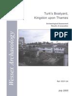 Turk's Boatyard Kingston upon Thames