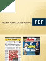 Analisis de Portada de Periodicos Peruanos