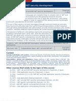 DotNet Security Courses