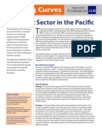 Transport Sector in the Pacific