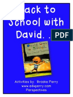 David Goes to School_pre-k