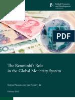 02 Renminbi Monetary System Prasad