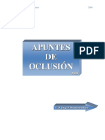 Apuntes de Oclusión I, 2010