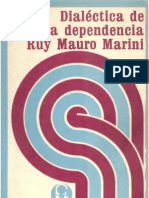 Dialectica de la Dependencia - Ruy Mauro Marini