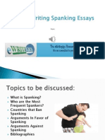 Tips in Writing Spanking Essays