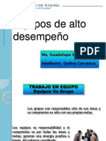 3. EQUIPOS DE ALTO DESEMPEÑO