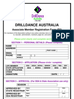 R3 - DDA Registration Form - Associate