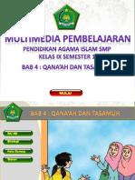 9104 Qana'Ah Dan Tasamuh