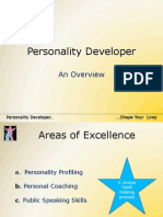 Personality Developer - Overview