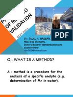 Method Validation 2003 p1