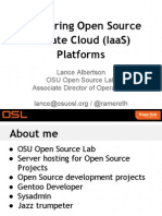 Comparing Open Source Private Cloud Platforms Presentation