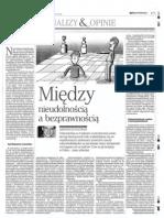 Arkadiusz Radwan  - Między nieudolnością a bezprawnością - Rzeczpospolita