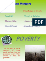 poverty in pakistan a complete presentation