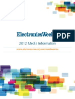Electronics Weekly - 2012 Media Pack