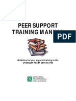 Peer Support Training Manual