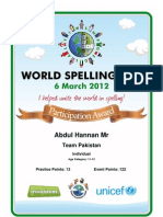 Certificates Spelling AbdulHannanM 2012-03-07
