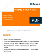 Software Industry Survey