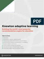 Knewton_adaptive Learning [White Paper]