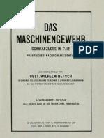 Das Maschinengewehr Schwarzlose M 7-12 1930