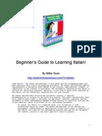 learn to speak italian like a local