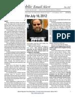 167 - Benjamin Fulford for July 16, 2012
