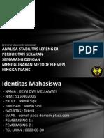 Analisa Stabilitas Lereng Di p 5150402005