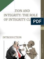 Integrity Club Patrons Training at Limuru August 2012