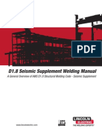D1.8 Seismic Supplement Welding Manual