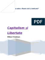 Recenzie - Capitalism Si Libertate de Milton Friedman
