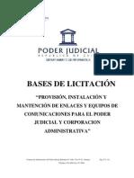 Bases Administrativas y Tecnicas