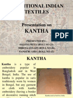 Kantha Embroidery by Nanduri Asha, Shreya Gulati, Saloni Priya