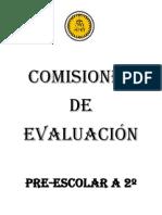 Comisiones de Evaluacion