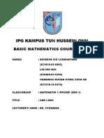 b.maths Sem1 Senior