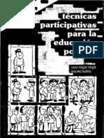 Vargas, Laura - Tecnicas Participativas Para La Educacion Popular