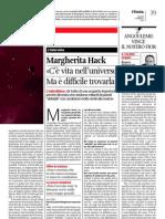 Margherita Hack - C'è vita nell'universo, ma è difficile trovarla